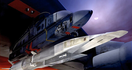 Scramjet-powered X-51A Waverider missile breaks Mach 5 record