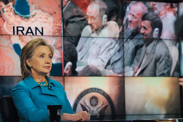 Clinton, Ahmadinejad to face off at UN over nuclear nonproliferation