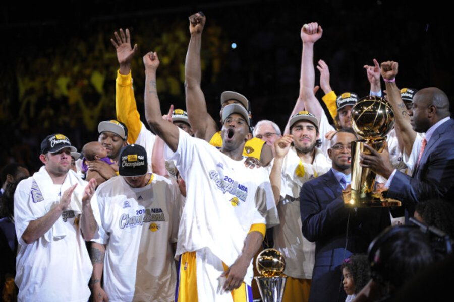 Nba Finals Game 7 La Lakers Win Nba Title Beating Celtics 83 79 Csmonitor Com