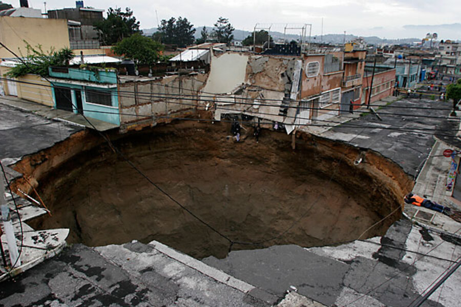 Tropical Storm Agatha floods kill 150, cause giant sinkhole in ...