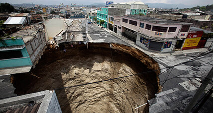 What exactly is a sinkhole anyway?