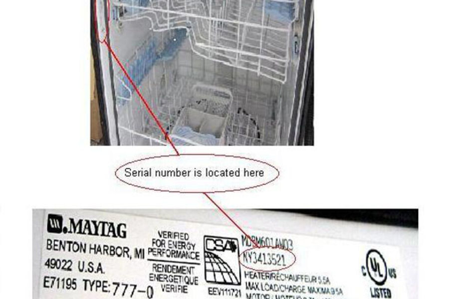 Maytag Dishwasher Recall What To Do If Yours Is On The