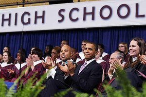 Obama at Kalamazoo Central High School: How did it win the honor ...