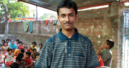A passion for learning results in a school for India's poorest children