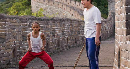 Liam Neeson and 'The A-Team' can't kick 'The Karate Kid' out of the weekend's top spot