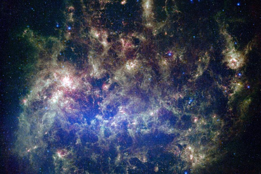 hubble telescope spots giant bubble in space csmonitor com