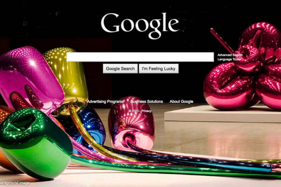 google background images offer new styles for your homepage