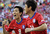 South Korea vs. Greece: Argentina, Nigeria are now put on notice after Reds' 2-0 win