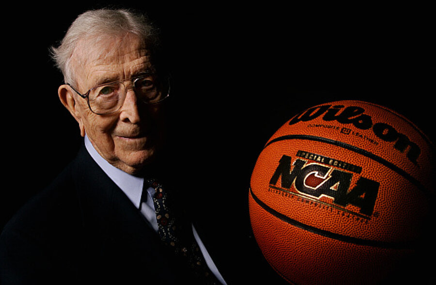 John Wooden Lessons For Basketball And Life Csmonitorcom