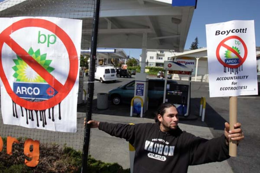 BP boycott hurting local gas station owners - CSMonitor com