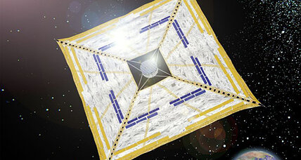 Japanese solar sail successfully rides a sunbeam