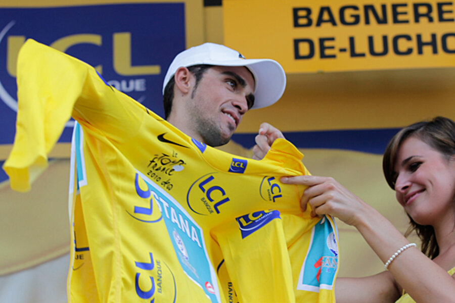 How the Tour de France's yellow jersey came to be yellow ...