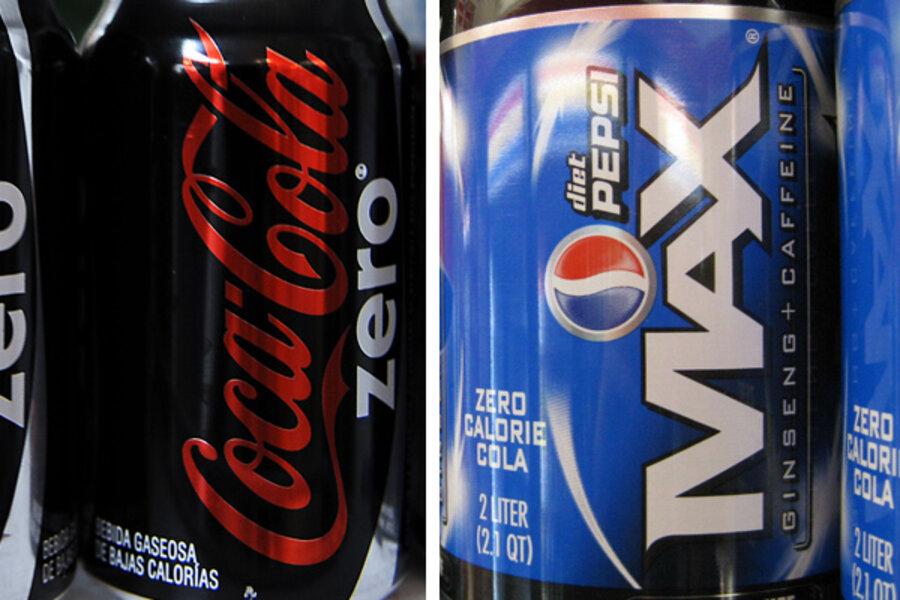 Cola wars return: Pepsi MAX vs. Coke