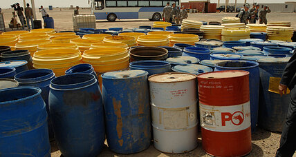 As Iraq war winds down, US military cleans up hazardous waste