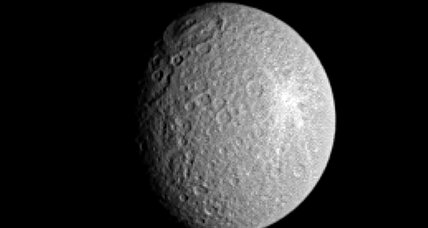 What's that weird thing around Saturn's second-largest moon?