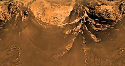 Titan's giant sand dunes shaped by 'backward' winds, study finds
