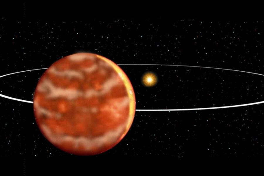 Rare failed star found circlin...