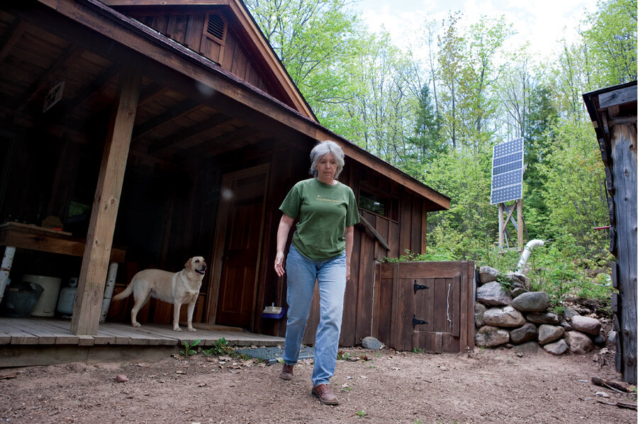 Green living this solar home is completely off the grid for Building off the grid ana white