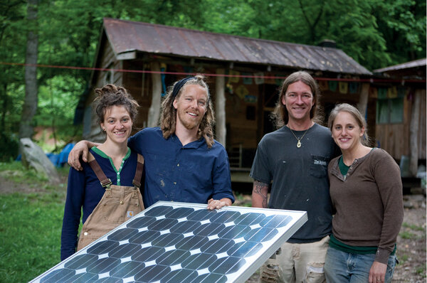 Green Living Off The Grid Families Pioneer Sustainable
