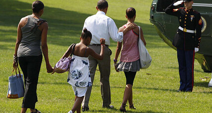 Obama's vacation: Time with the family ... and the nuclear codes