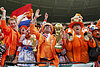 Morning after: The Netherlands' World Cup fans euphoric in Cape Town