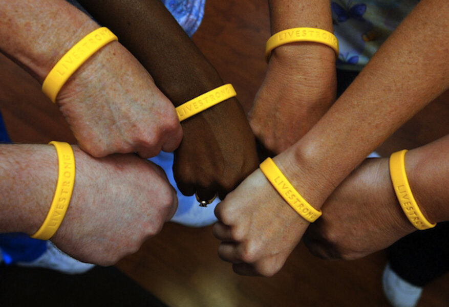 Try That Yellow Livestrong Bracelet