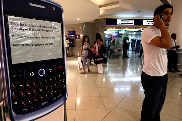 BlackBerry ban: Is UAE trying to crack down on Dubai's wild ways?