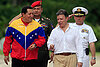 First move for Colombia's Santos: Reconcile with Venezuela's Chávez