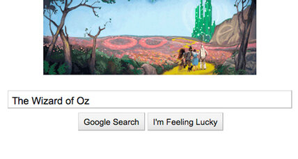Wizard of Oz latest Google Doodle homage