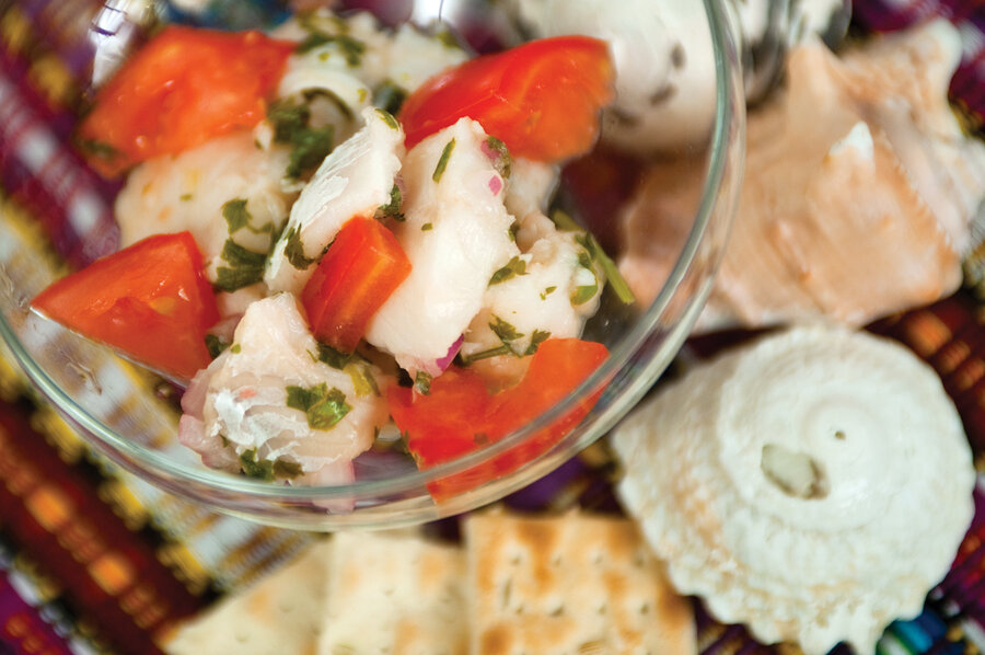 Ceviche: All you need is raw fish, lime juice, and patience