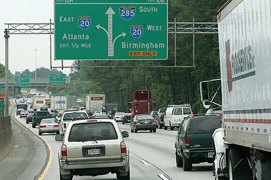 Traffic Jam The 10 Most Congested Cities In America 8