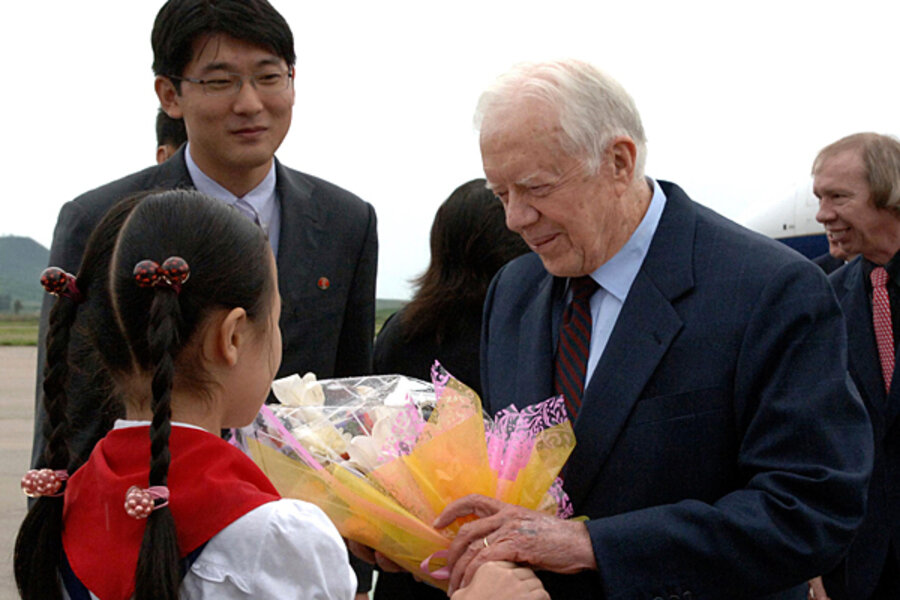 Jimmy Carter's North Korea visit may trigger cooling-off period - CSMonitor.com
