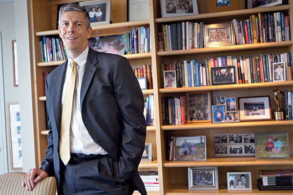 Education secretary Arne Duncan: headmaster of US school ...