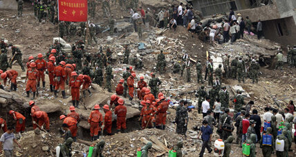 China mudslides were predicted 13 years ago