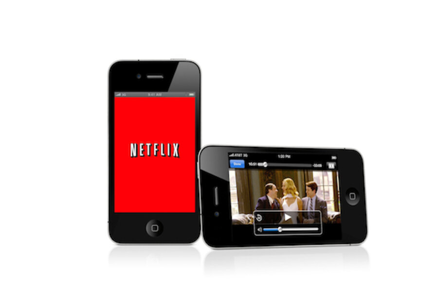 netflix rolls out free app for apple iphone ipod touch csmonitor com