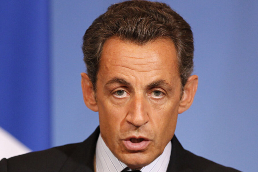 Nicolas Sarkozy To Foreign Born French Target Police And Lose Your Citizenship Csmonitor Com