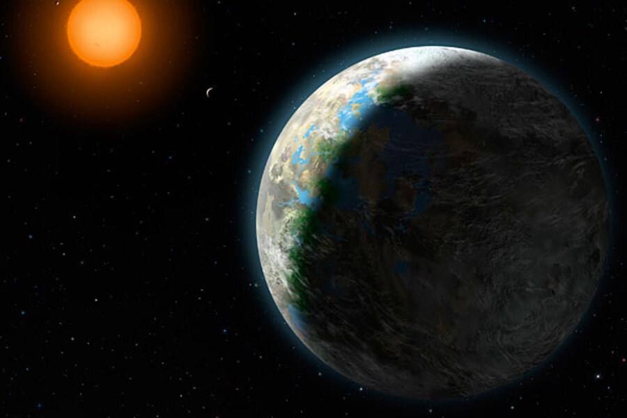 Gliese 581g Surface
