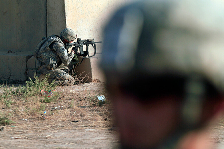 As Iraq combat operations end, US forces try to cement gains