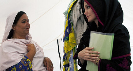 Angelina Jolie is more than a pretty face for Pakistan flood relief