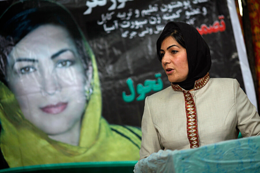 In Afghan election, corruption colors aims of many female