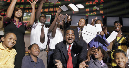 He teaches inner-city kids how to be smart about money