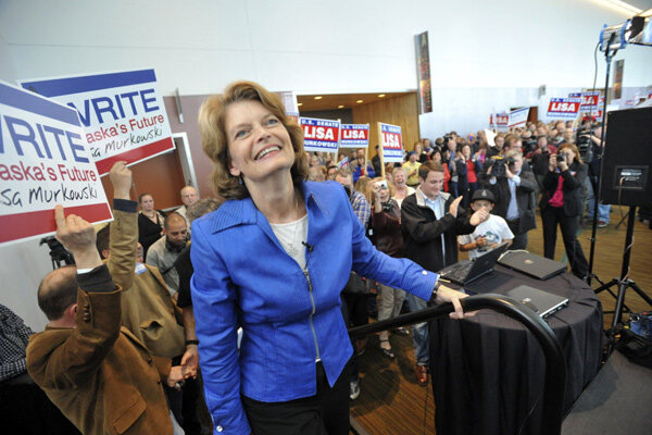 Alaska's Lisa Murkowski off to a rocky start as write-in candidate