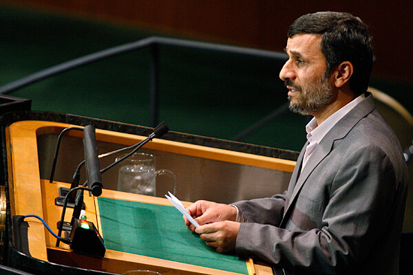 Mahmoud Ahmadinejad: A man who favors cheap windbreakers, sensible shoes, and 9/11 conspiracy theories