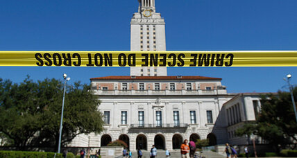 UT shooting comes just as Austin campus debates concealed weapons law