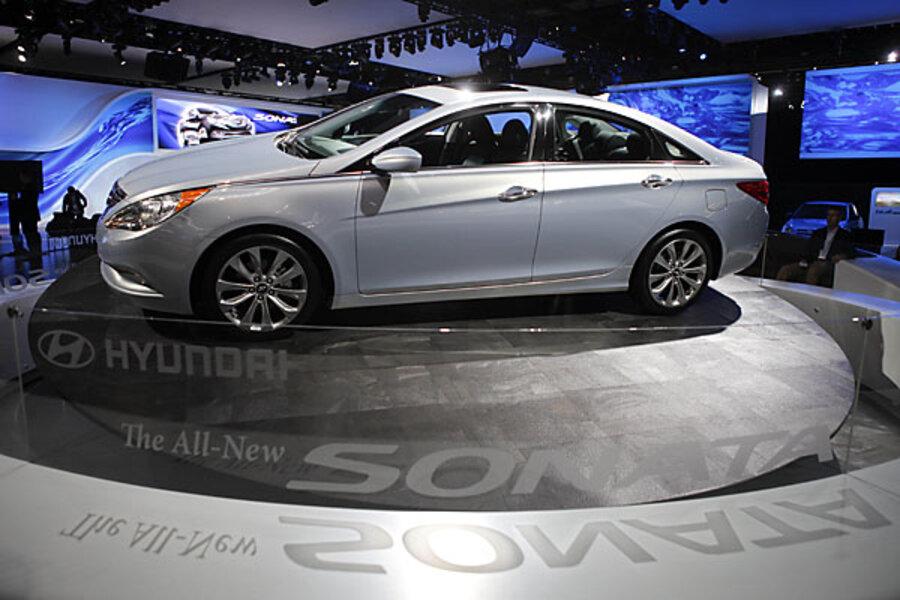 Hyundai Sonata Steering Hazard Causes Recall Csmonitor Com