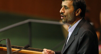Mahmoud Ahmadinejad's top 5 quotes to the UN, 2005-2009