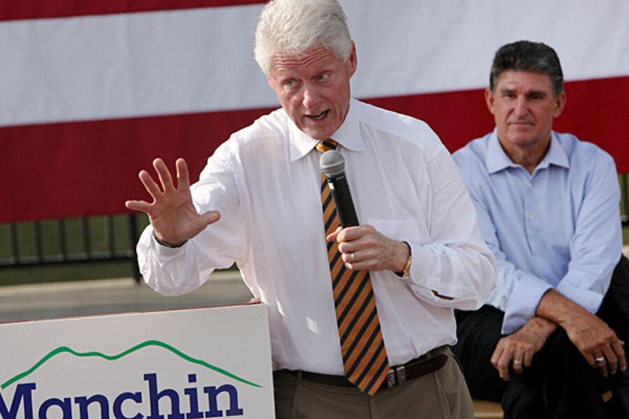 Sarah Palin takes on Bill Clinton in West Virginia Senate