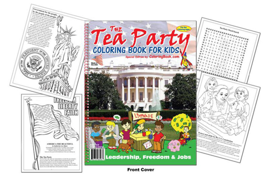 Stephen Colbert tips his hat to Tea Party coloring book for kids