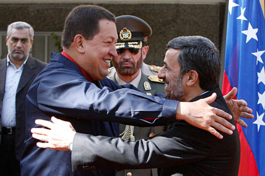 Image result for hugo chavez vs us