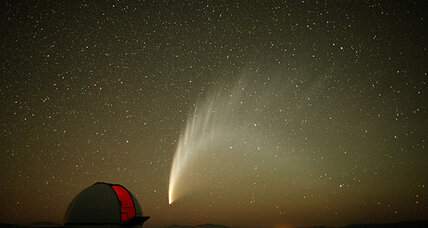 How a comet can cause a meteor shower